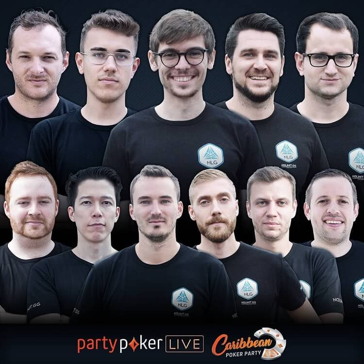 Главный спонсор No Limit Gaming и чипкаунт Millions World на Caribbean Poker Party